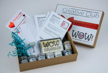 WOW!  Creative Club - Kit 9 (Launched November 2019) - Mandala Magic